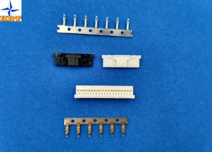 UL94V-0 Wire Board Connector , 1 Row Circuit Wire Connectors With Lock / Bump A1253HA